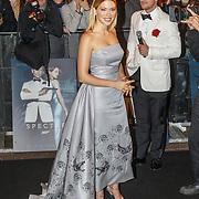 NLD/Amsterdam/20151028 - Premiere James Bondfilm Spectre, Levi van Kempen interviewt Lea Seydoux