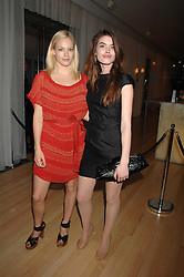 Left to right, model ANNABELLE HORSEY and CLAUDIA COOPER at an Evening at Sanderson in Aid of CLIC Sargent held at The Sanderson Hotel, 50 Berners Street, London W1 on 15th May 2007.<br /><br />NON EXCLUSIVE - WORLD RIGHTS