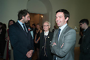 IDRIS KHAN; ANTHONY FAWCETT; ELLIOT MACDONALD, Calder After The War. Pace London. Burlington Gdns. London. 18 April 2013.