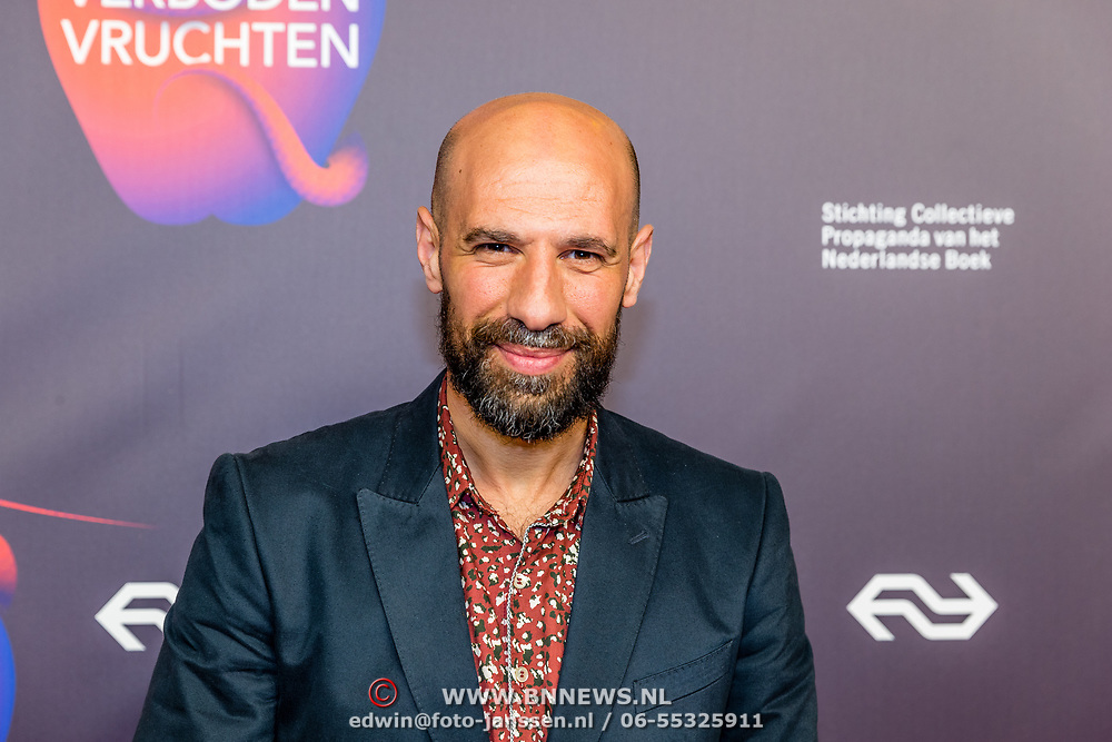 NLD/Amsterdam/20170324 - Boekenbal 2017, Abdelkader Benali