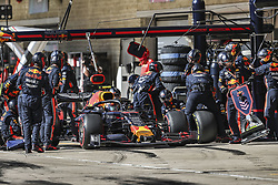 November 3, 2019, Austin, United States of America: Motorsports: FIA Formula One World Championship 2019, Grand Prix of United States, ..#23 Alexander Albon (THA, Aston Martin Red Bull Racing) (Credit Image: © Hoch Zwei via ZUMA Wire)