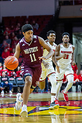 NORMAL, IL - January 07: Isiaih Mosley during a college basketball game between the ISU Redbirds and the University of Missouri State Bears on January 07 2020 at Redbird Arena in Normal, IL. (Photo by Alan Look)