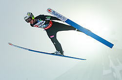 Timi Zajc (SLO) // Timi Zajc of Slovenia flying through the air during Trial Round at Day 1 of FIS Ski World Flying Championship Planica 2020, on December 10, 2020 in Planica, Kranjska Gora, Slovenia. Photo by Vid Ponikvar / Sportida