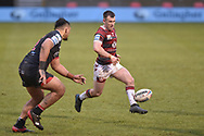 Harry Smith (20) of Wigan Warriors in action during the game