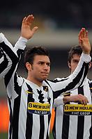 "michele paolucci<br /> Verona, 17/01/2010 Stadio ""Bentegodi""<br /> Chievo-Juventus<br /> Campionato Italiano Serie A 2009/2010<br /> Foto Nicolò Zangirolami Insidefoto"