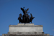 Constitution Arch (Wellington Arch), a memorial to the Duke of Wellington and originally providing a grand entrance to London.