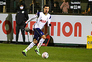 Tottenham Hotspur midfielder Dele Alli (20) runs with the ball during the The FA Cup match between Marine and Tottenham Hotspur at Marine Travel Arena, Great Crosby, United Kingdom on 10 January 2021.