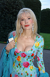 DONATELLA FLICK at a party to celebrate the opening of Roger Vivier in London held at The Orangery, Kensington Palace, London on 10th May 2006.<br /><br />NON EXCLUSIVE - WORLD RIGHTS