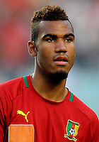 Football Fifa Brazil 2014 World Cup Matchs-Qualifier / Africa - Play-Off / <br /> Tunisia vs Cameroon 0-0  ( Olympic Stadium of Rades , Tunis-Rades , Tunisia ) <br /> Eric CHOUPO MOTING of Cameroon , during the match between Tunisia and Cameroon