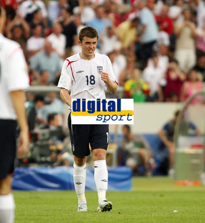 Photo: Chris Ratcliffe.<br /> <br /> England v Ecuador. 2nd Round, FIFA World Cup 2006. 25/06/2006.<br /> <br /> Michael Carrick of England.
