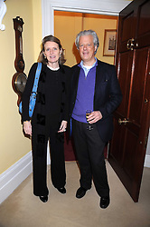 LORD & LADY KENILWORTH she is designer Kiki McDonough at a birthday party for Lady Meyer hosted by Richard & Basia Briggs at their home 25 Sloane Gardens, London SW1 on 28th January 2009.