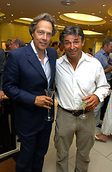 Left to right, The EARL OF MARCH and ALAN DE CADENET at a party hosted by Links at their store in Sloane Square, London to celebrate the forthcoming Glorious Goodwood Racing festival held on 26th July 2006.<br /><br />NON EXCLUSIVE - WORLD RIGHTS