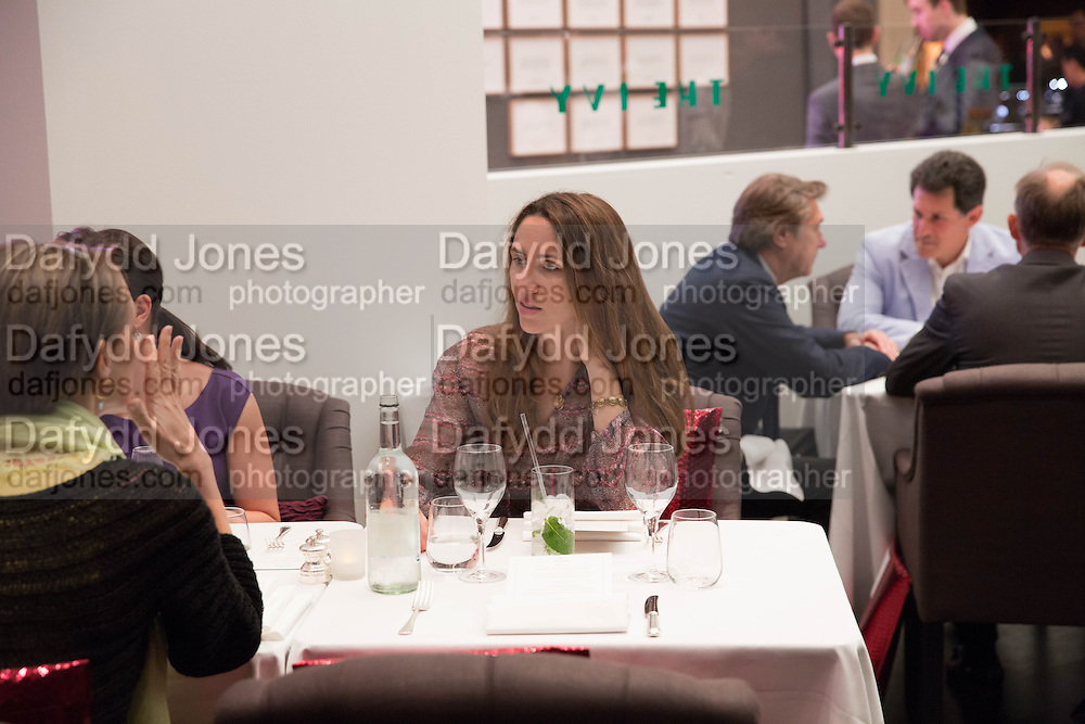 MARIA DE MADARIAGA, Lunch at the Ivy Club pop up-restaurant during the preview of Masterpiece Art Fair. Co-hosted by  Count & Countess Filippo Guerrini-Maraldi, and Lord<br /> Dick Daventry. 26 June 2013