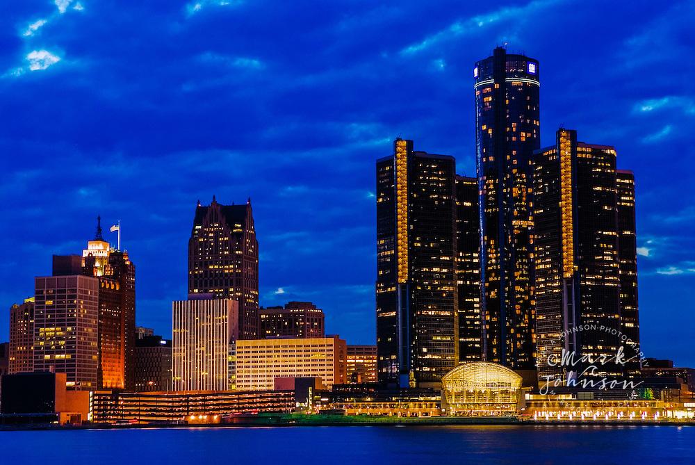 Detroit, Michigan, USA --- Detroit Skyline