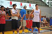 DESCRIZIONE : Trento Primo Trentino Basket Cup Nazionale Italia Maschile <br /> GIOCATORE : Danilo Gallinari<br /> CATEGORIA : allenamento<br /> SQUADRA : Nazionale Italia <br /> EVENTO :  Trento Primo Trentino Basket Cup<br /> GARA : Allenamento<br /> DATA : 25/07/2012 <br /> SPORT : Pallacanestro<br /> AUTORE : Agenzia Ciamillo-Castoria/M.Gregolin<br /> Galleria : FIP Nazionali 2012<br /> Fotonotizia : Trento Primo Trentino Basket Cup Nazionale Italia Maschile<br /> Predefinita :