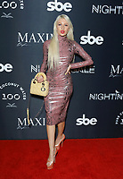 Titi Pikula at MAXIM Magazine's Official Release of their Sept./Oct. Issue Hosted by Cover Model Vita Sidorkina held at Nightingale on September 28, 2019 in Los Angeles, California, United States (Photo by © VipEventPhotography.com