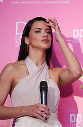 June 9, 2017 - Antalya, Türkiye - Famous top model Adriana Lima, joins the press conferance during Dosso Dossi Fashion Show at Antalya city of Turkey, june8, 2017. (Credit Image: © Depo Photos via ZUMA Wire)