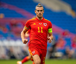 CARDIFF, WALES - Sunday, September 6, 2020: Wales' captain Gareth Bale during the UEFA Nations League Group Stage League B Group 4 match between Wales and Bulgaria at the Cardiff City Stadium. (Pic by David Rawcliffe/Propaganda)