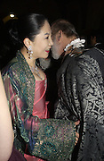 LADY ROTHERMERE AND PRINCE MICHAEL OF KENT. Andy and Patti Wong host  party to cleebrate then Chinese New Year of the Dog. Royal Courts of Justice. Strand. London. 28 January 2006. © Copyright Photograph by Dafydd Jones 66 Stockwell Park Rd. London SW9 0DA Tel 020 7733 0108 www.dafjones.com