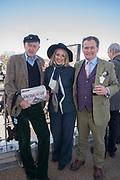 Rupert Lycett Green, Josephine Pembroke;  James Pembroke, Cheltenham races,  Ladies Day, Wednesday 15 March 2017