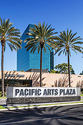 Pacific Arts Plaza Signage Costa Mesa