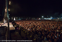 Record crowds as ZZ Top headlines at  Cycle Fest at Westworld during Arizona Bike Week. April 5, 2014.  Photography ©2014 Michael Lichter.