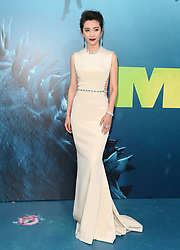 """Premiere of Warner Bros. Pictures and Gravity Pictures' """"The Meg"""". TCL Chinese Theatre IMAX, Hollywood, California. Pictured: Li Bingbing. EVENT August 6, 2018. 06 Aug 2018 Pictured: Li Bingbing. Photo credit: AXELLE/BAUER-GRIFFIN/MEGA TheMegaAgency.com +1 888 505 6342"""