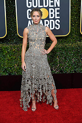 January 6, 2019 - Los Angeles, California, U.S. - Emily Blunt during red carpet arrivals for the 76th Annual Golden Globe Awards at The Beverly Hilton Hotel. (Credit Image: © Kevin Sullivan via ZUMA Wire)