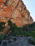 Rock climbing on Taipan Wall, Grampians, Australia