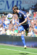 Cardiff city's Scott Malone in action. Skybet football league championship match, Cardiff city v Fulham at the Cardiff city stadium in Cardiff, South Wales on Saturday 8th August  2015.<br /> pic by Carl Robertson, Andrew Orchard sports photography.