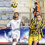 Ankaragucu's Marek SAPARA (R) during their Turkish superleague soccer match Kasimpasa between Ankaragucu at the Recep Tayyip Erdogan stadium in Istanbul Turkey on Saturday 19 February 2011. Photo by TURKPIX