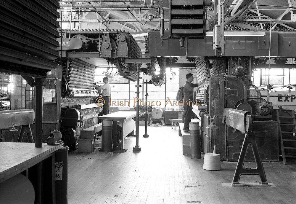 21/07/1967<br /> 07/21/1967<br /> 21 July 1967 <br /> New Looms by David Crabtree and Sons Ltd. at Navan Carpets Ltd.  Factory, Navan, Co. Meath.