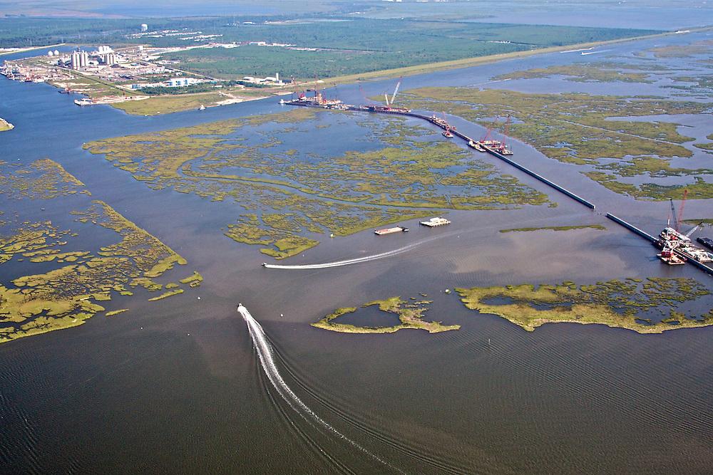 Floodgate Construction, GIWW, MRGO, Michoud Facility