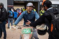 Mexico's Ivan Ramirez during the last day World trophy class of the FIM international six days of enduro 2016 in Navarra, Spain. October 11, 2016. (ALTERPHOTOS/Rodrigo Jimenez)