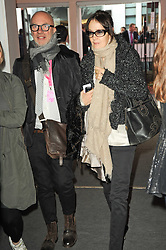 VIP reception of the Pavilion of Art & Design London 2010 held in Berkeley Square, London on 12th October 2010.<br /> Picture Shows:-NIGEL COATES and LUCY BIRLEY.