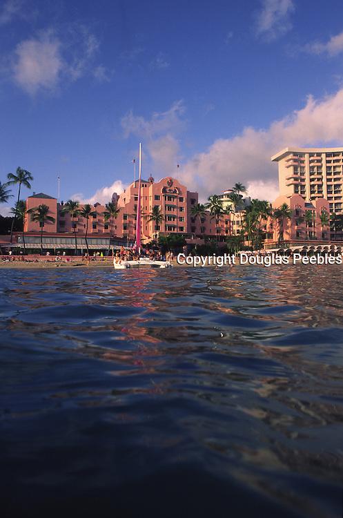 Royal Hawaiian Hotel, Waikiki, Oahu, Hawaii<br />