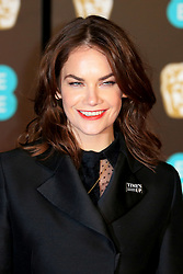 attends the EE British Academy Film Awards at the Royal Albert Hall in London, UK. 18 Feb 2018 Pictured: Ruth Wilson. Photo credit: Fred Duval / MEGA TheMegaAgency.com +1 888 505 6342