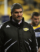 Hurricanes coach Colin Cooper.<br /> Super 14 rugby union match - Hurricanes v Blues, Westpac Stadium, Wellington, New Zealand. Friday 1 May 2009. Photo: Dave Lintott/PHOTOSPORT