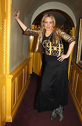 BAY GARNETT at a private dinner and presentation of Issa's Autumn-Winter 2005-2006 collection held at Annabel's, 44 Berkeley Square, London on 15th March 2005.<br /><br />NON EXCLUSIVE - WORLD RIGHTS