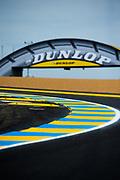 June 13-18, 2017. 24 hours of Le Mans. Circuit detail at the Circuit de la Sarthe