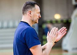 Rado Trifunovic, head coach during practice session of Slovenian National basketball team before FIBA Basketball World Cup China 2019 Qualifications against Belarus, on November 20, 2017 in Arena Stozice, Ljubljana, Slovenia. Photo by Vid Ponikvar / Sportida
