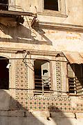 Derelict building in Casablanca, Morocco
