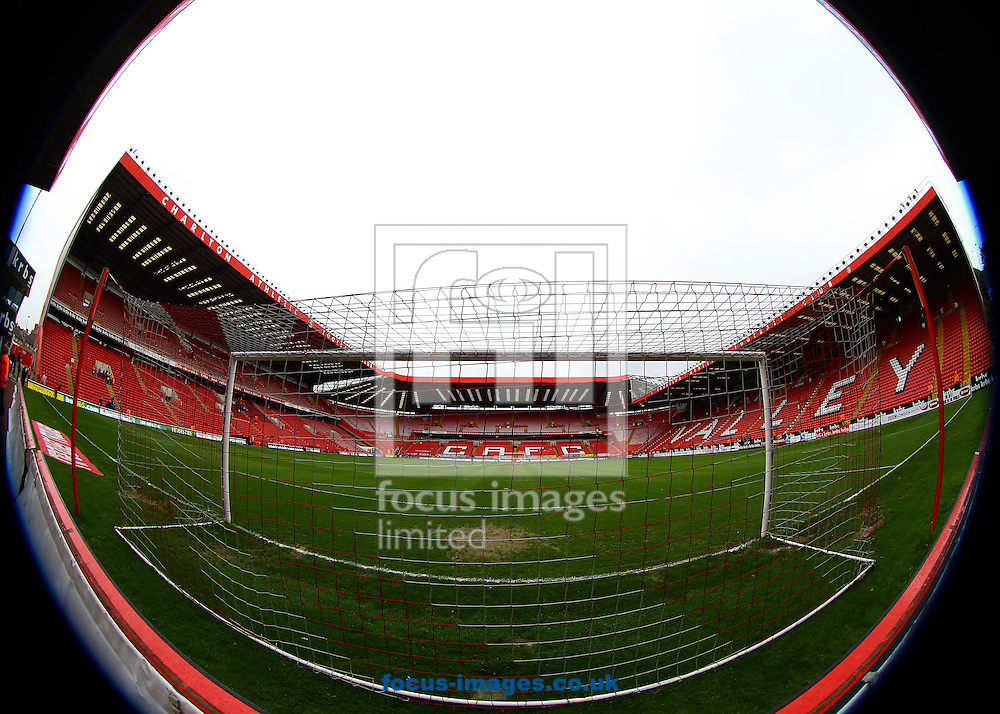 Picture by John Rainford/Focus Images Ltd. 07506 538356.05/05/12.General view of the interior at The Valley stadium, London.