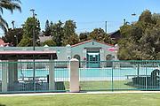 Brea City Hall and Park Swimming Facility