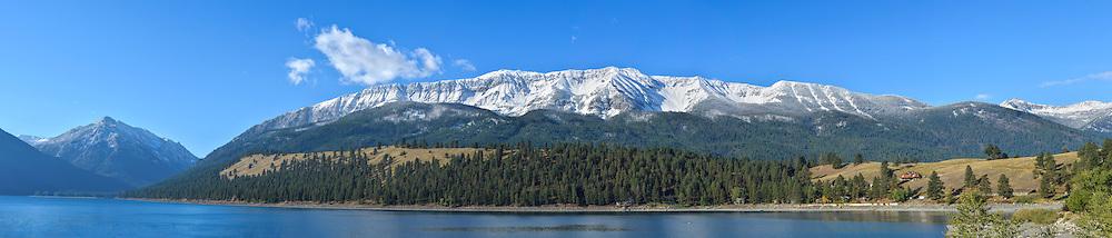 Wallowa Lake and Chief Joseph Mountain, Northeast Oregon.