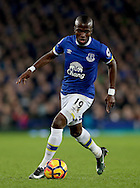Enner Valencia of Everton during the English Premier League match at Goodison Park Stadium, Liverpool. Picture date: December 13th, 2016. Pic Simon Bellis/Sportimage
