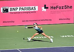 March 8, 2019 - Palm Desert, California, Usa - Tennis : BNP Paribas Open 2019 - Garbine Muguruza - Espagne (Credit Image: © Panoramic via ZUMA Press)