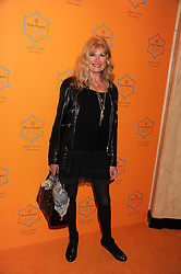 DEBBIE MOORE Founder, Chairman and MD of Pineapple Dance Studios at the annual Veuve Clicquot Business Woman of the Year Award this year celebrating it's 40th year, held at Claridge's, Brook Street, London on 18th April 2012.