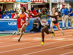 NSAF 2014 New Balance Nationals Indoor, girls 60 meter dash, Miklah Brisco