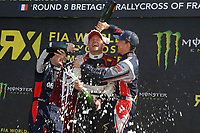11 SOLBERG PETTER (NOR) CITROEN DS3 SUPERCAR TEAM PS 100%AB ACTION PODIUM during the 2014 FIA RX World Rallycross Championship at Loheac, France, from September 6th to 7th. Photo Jean Michel Le Meur / DPPI